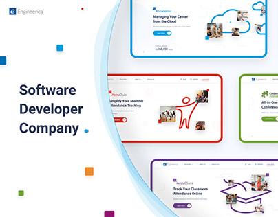 Software Company   Corporate Site