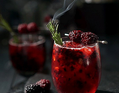 Food Cinemagraph Berry Juice