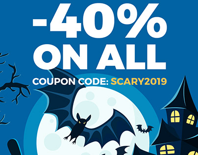 Halloween sale - WordPress themes are 40% OFF