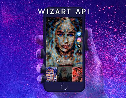 Wizart API – Technology, App, Brand & Website