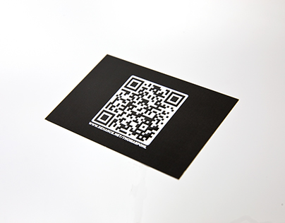 Business card with relief coating