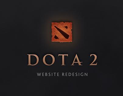 Dota 2 | Website Concept