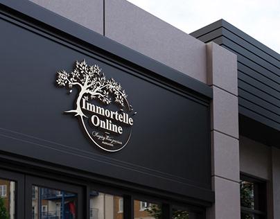 Immortelle Online | Logo Design