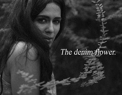 The denim flower.