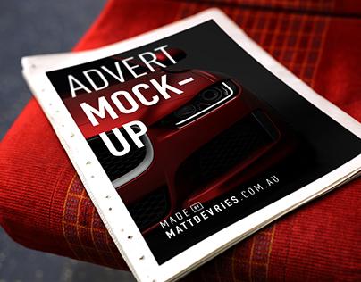 FREE Smart Newspaper Advertising | PSD TEMPLATE MOCKUP