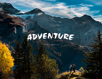 Design for travel agency Adventure