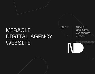 Miracle Digital Agency — Website Design