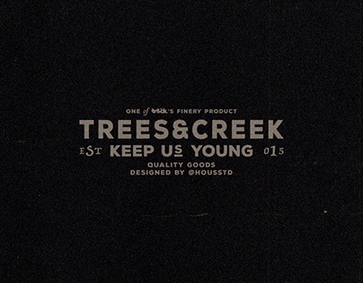 Trees and Creek 2018