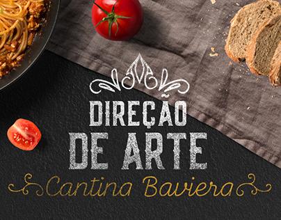 Direção de Arte   Restaurante - Cantina Baviera