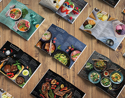 Restaurants menu card design