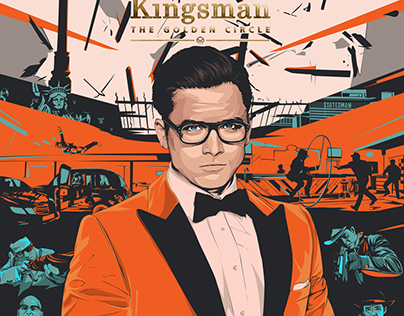 Kingsman: The Golden Circle - Alternative movie poster