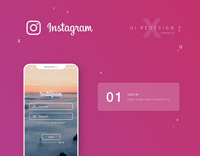 Instagram App UI Redesign