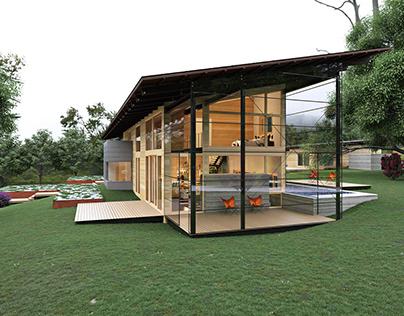 Hog Pen Creek Residence | 3D Visualization