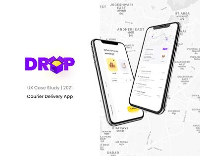 DROP - Courier App UX Case Study