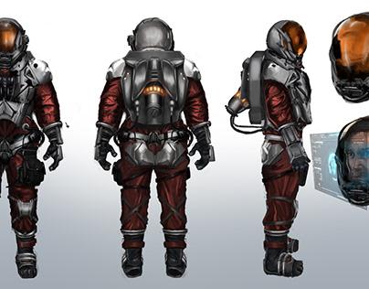 Concept art suit