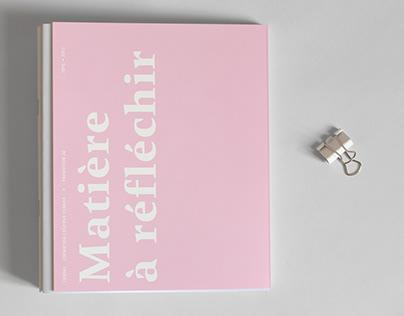Exposition Matière à réfléchir — Catalogue