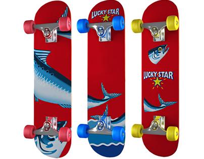 Lucky Star - Concept Skateboards