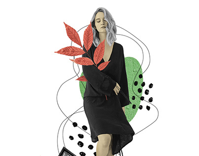 Fashion Collages \ Katia Kozyreva 2018