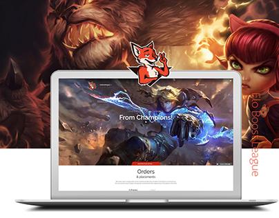 Elo Boost Website | Web Design Project