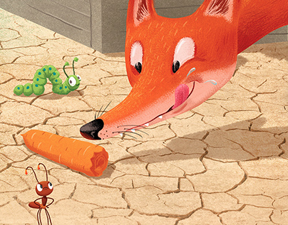 The Ant And The Carrot