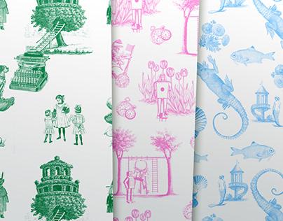 Pattern Design: Toile de Jouy