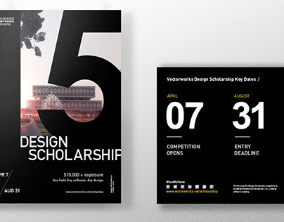 Vectorworks Design Scholarship Marketing
