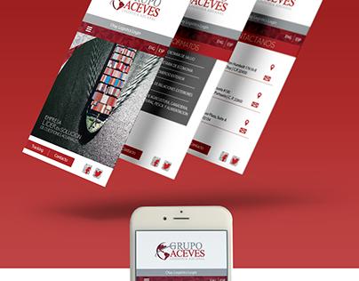 Grupo Aceves   Web Design ©