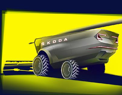 Škoda Harvester Concept