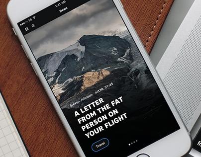 Picstr app concept