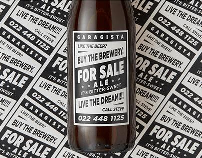 Garagista - For Sale Ale - Campaign