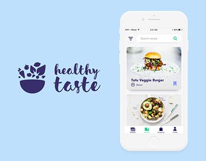 Healthy taste – Recipe App