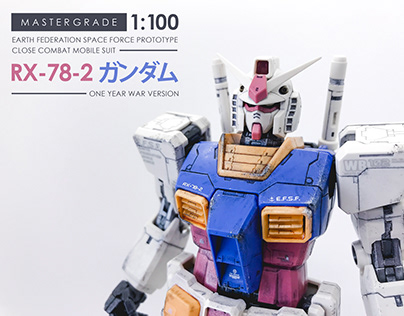 RX-78-2 1/100 scale model kit