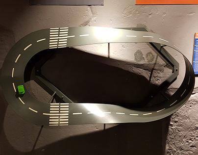 """exhibit """"Möbius strip"""" for Experimentanium"""