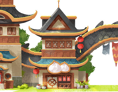 The drago's village