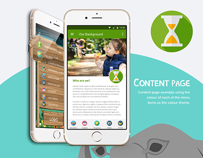 Personalised School App for Client