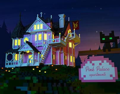 Coraline - Pink Palace Apartments