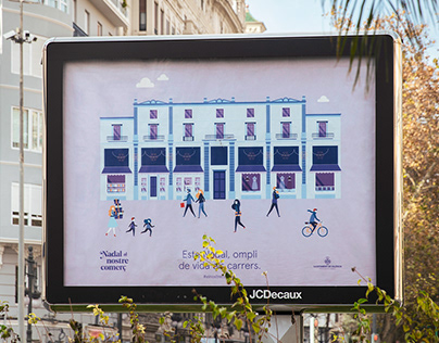 Christmas campaign 2018. Valencia's City Council