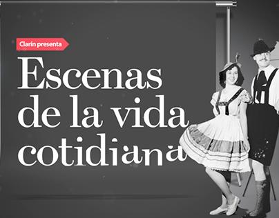 Escenas de la vida cotidiana - Clarín