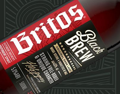 BRITOS BLACK BREW - Porter Style Beer