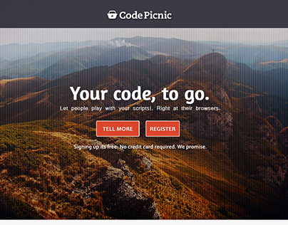 Design for CodePicnic