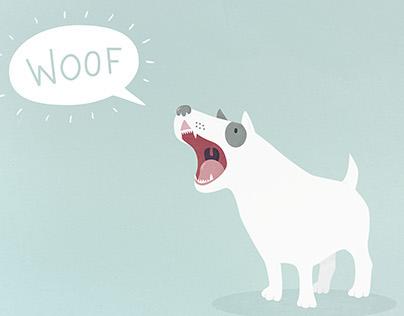 Loud dog