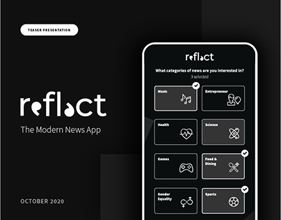 Reflect - The News App