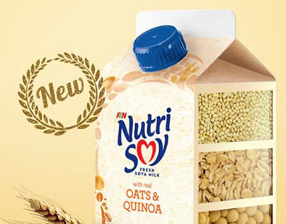 NutriSoy Oats & Quinoa