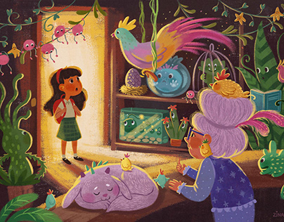 The fairy pet shop
