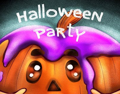Halloween Party CHARACTERS DESIGN