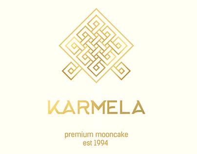 Karmela moon cake