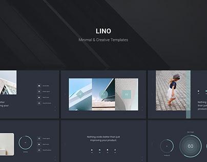 LINO - Minimal & Creative Presentation Template