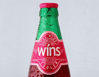 Wins sparkling wine. Packaging design