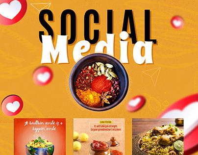 Aruna Masala - Social Media Designs