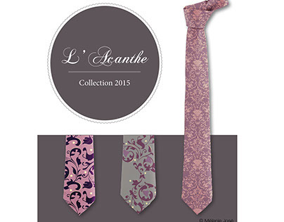 L'acanthe / collection cravate